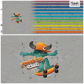 1 Panel * MonsterSkater -  Streifen - Jersey !Vorbestellung bis 26.9.!